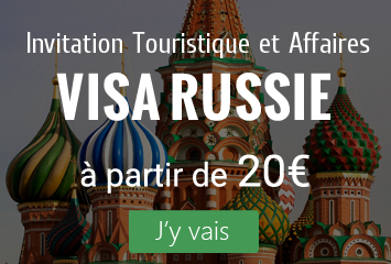 Visa Russie - invitation / voucher touristique et business