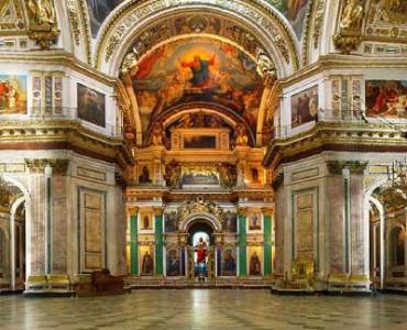 Visite Cathédrale Saint-Isaac