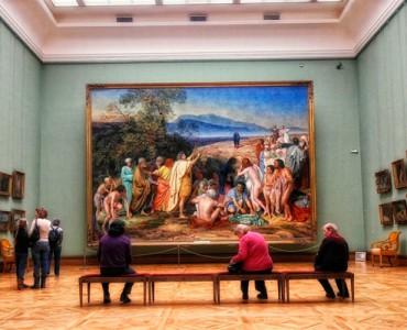 Visite Visite de la Galerie Trétiakov.