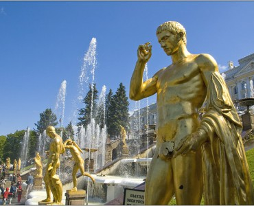 Visite Visite du  Palais et de ses jardins à Péterhof