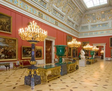 Visite Musée Ermitage