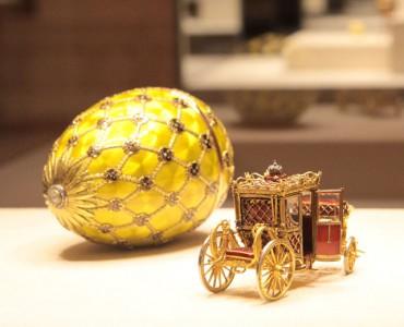 Visite Visite du Musée Fabergé à St-Pétersbourg.