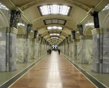 Visite Métro de Saint-Pétersbourg