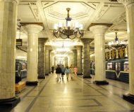 Metro Saint-Petersbourg