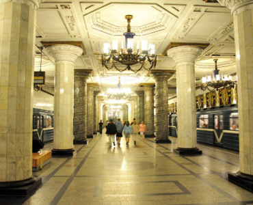 Metro Saint-Petersbourg