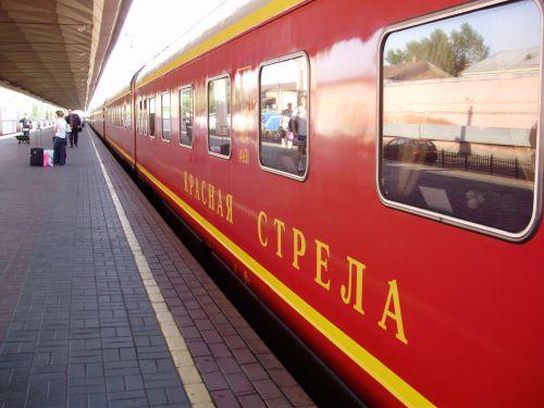 Train Flèche Rouge