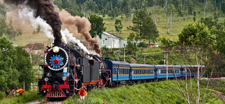 Trans-Siberian-train-