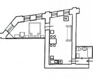 Appartement St-Pétersbourg Fontanka 69-4