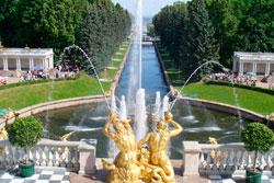 Visite Parc de Peterhof