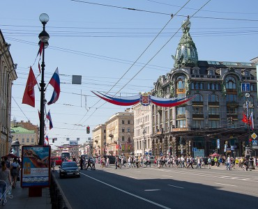 Rue Perspective Nevski, Saint-Pétersbourg